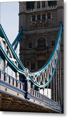 Tower Bridge 03 Metal Print by Rick Piper Photography