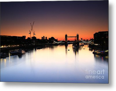 Tower Bridge 2 Metal Print
