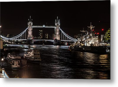 Tower Bridge London England Metal Print by John Hastings