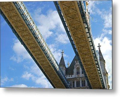 Tower Bridge Metal Print by Christi Kraft