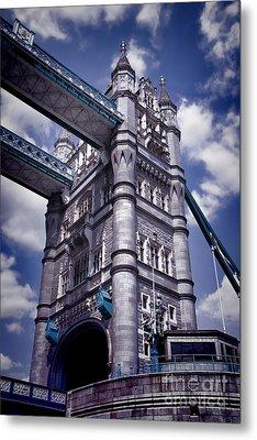 Tower Bridge London Metal Print by Kasia Bitner