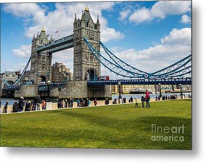 Tower Bridge Metal Print by Matt Malloy