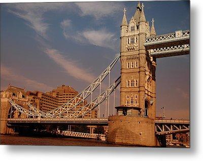Tower Bridge Sunset Metal Print by Jonah  Anderson