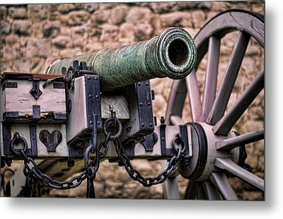 Tower Canon Metal Print by Heather Applegate