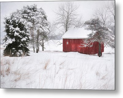 Tower City Farm Metal Print by Lori Deiter