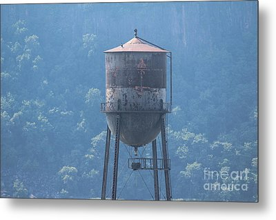Tower In The Trees Metal Print