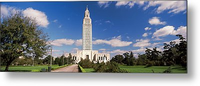 Tower Of A Government Building Metal Print by Panoramic Images