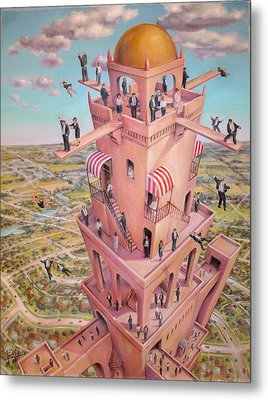 Tower Of Babbit Metal Print