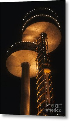 Metal Print featuring the photograph Towers Of Light by ELDavis Photography
