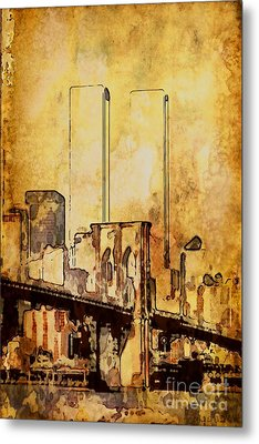 Towers Remembered  Metal Print