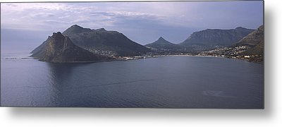 Town Surrounded By Mountains, Hout Bay Metal Print