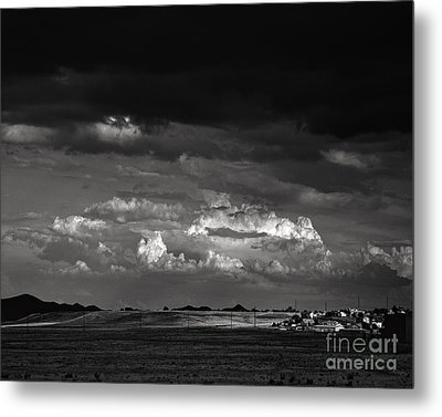 Towns End Metal Print by Arne Hansen