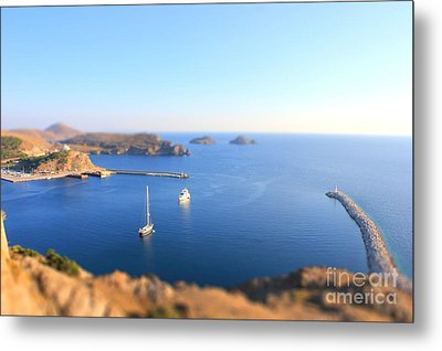 Toy Boats Metal Print by Vicki Spindler