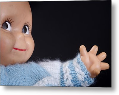 Toy Doll Metal Print by Donald  Erickson