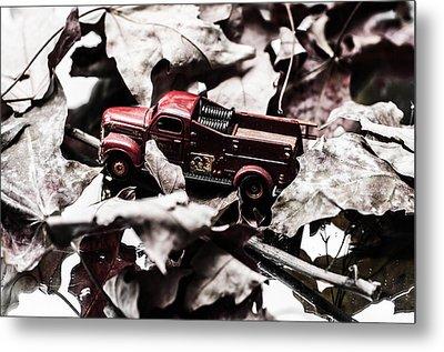 Toy Fire Truck Metal Print
