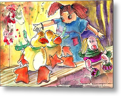Toy Story In Lanzarote 02 Metal Print by Miki De Goodaboom