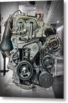 Toyota Engine Metal Print