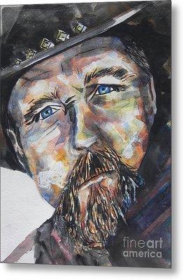 Trace Adkins..country Singer Metal Print by Chrisann Ellis