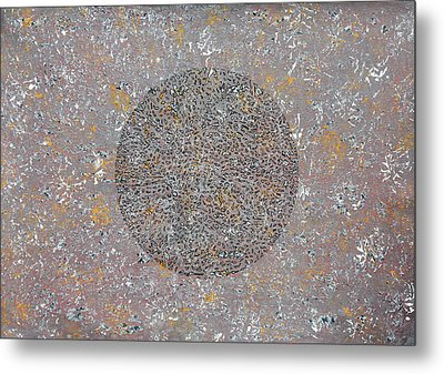 Traces Of Life Metal Print by Sumit Mehndiratta