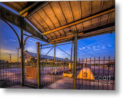 Track 3 Metal Print by Marvin Spates