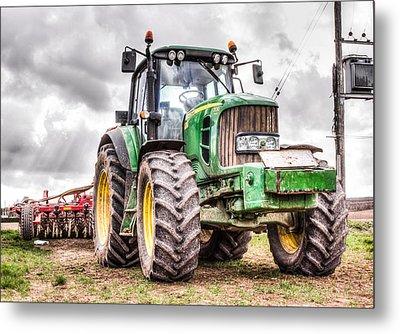 Tractor 2 Metal Print