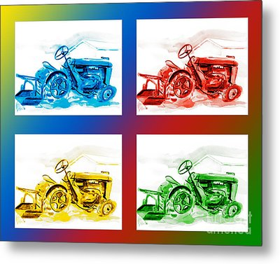 Tractor Mania IIi Metal Print by Kip DeVore