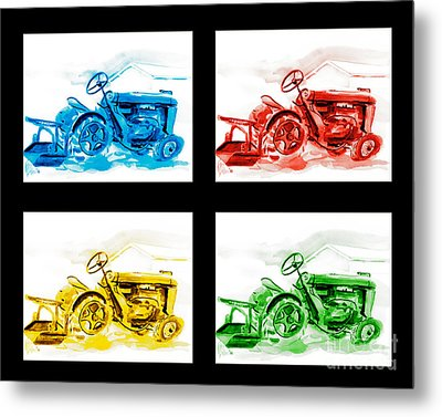 Tractor Mania Iv Metal Print by Kip DeVore