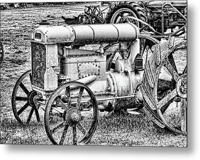 Metal Print featuring the photograph Tractor by Ron Roberts