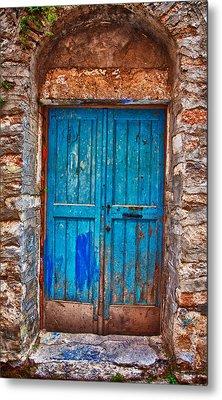 Traditional Door 2 Metal Print