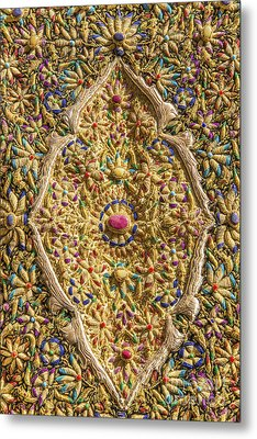 Traditional Embroidery In Jerusalem Israel Metal Print