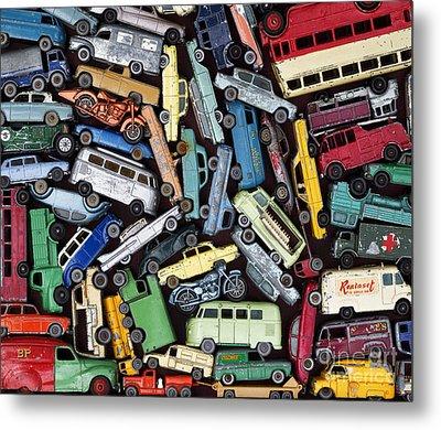 Traffic Jam Metal Print by Tim Gainey