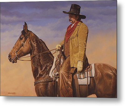 Trail Boss Metal Print by Ron Crabb