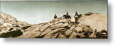 Trail Ride One Metal Print by Ron Crabb