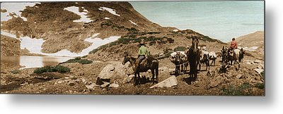 Trail Ride Two Metal Print by Ron Crabb