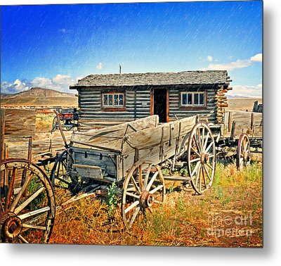 Trail Town 6 Metal Print