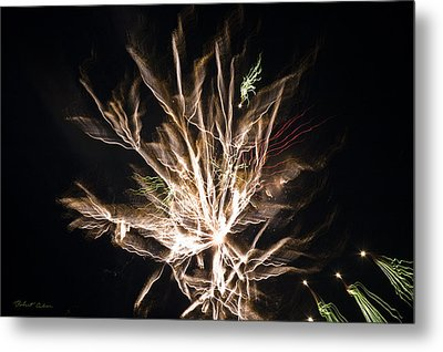 Metal Print featuring the photograph Trails by Robert Culver