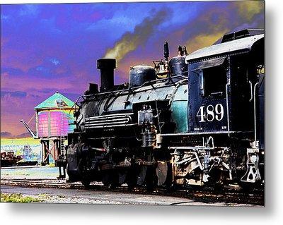 Train 489 Metal Print by Steven Bateson