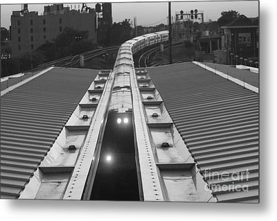 Train Keeps On Rollin Metal Print by John Telfer