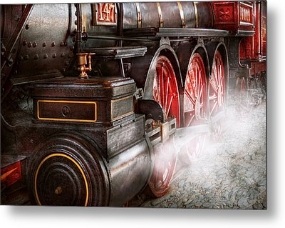 Train - Let Off Some Steam  Metal Print by Mike Savad