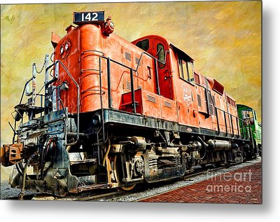 Train - Mkt 142 - Rs3m Emd Repowered Alco Metal Print