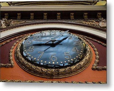 Train Time Metal Print by Glenn DiPaola