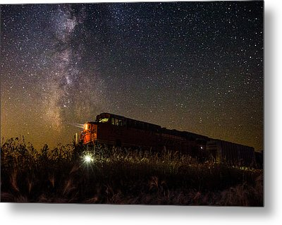 Train To The Cosmos Metal Print
