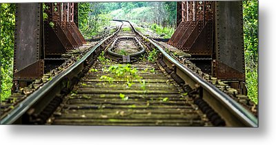 Train Trestle 2 Metal Print