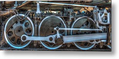 Train Wheels Metal Print by Paul Freidlund