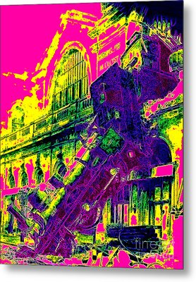 Train Wreck At Montparnasse Station 20130525 Metal Print by Wingsdomain Art and Photography