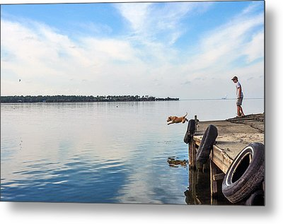 Training Day Metal Print by Donnie Smith