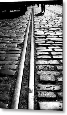 Tramway Metal Print by Lesley Rigg