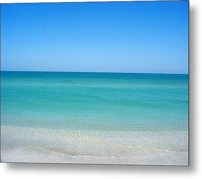 Metal Print featuring the photograph Tranquil Gulf Pond by David Nicholls