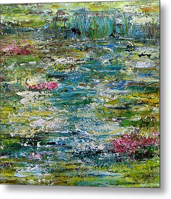 Tranquil Moments Metal Print by Katie Black