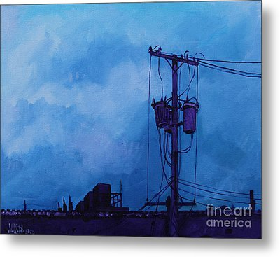 Tranquil Observation Metal Print by Michael Ciccotello